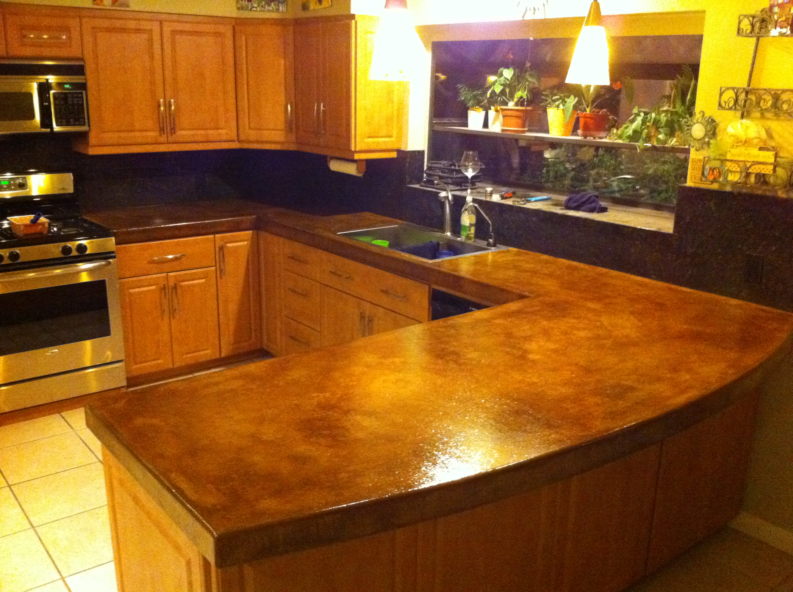 Palm Desert Concrete Counter Top Nikolic Construction